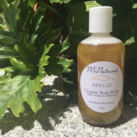 minatural nest organic body wash
