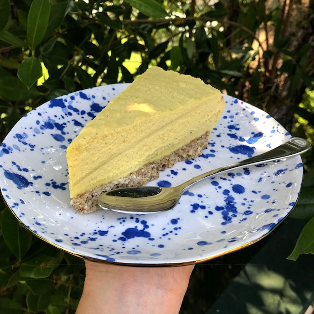 Mango Lime 'No' Cheese Cake