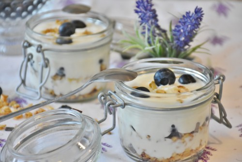 jars stack really well in your esky and great for healthy easy snacks such as chia pudding