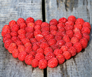 raspberries for healing