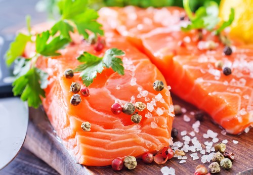 Omega 3 fatty acids - DHA and EPA - are essential fatty acids found in oily fish such as salmon