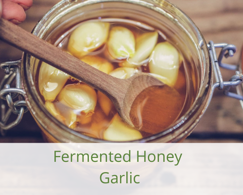 honey-garlic