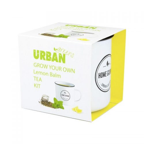 UrbanGreens Grow Your Own Tea Kit - Lemon Balm
