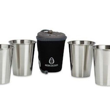 Ecococoon stainless steel cup set-urban-chic